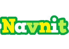 Navnit soccer logo