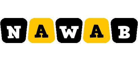 Nawab boots logo