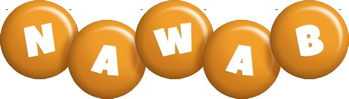 Nawab candy-orange logo