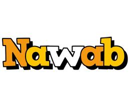 Nawab cartoon logo