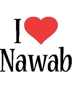 Nawab i-love logo