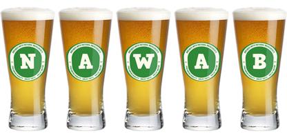 Nawab lager logo