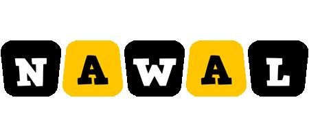 Nawal boots logo