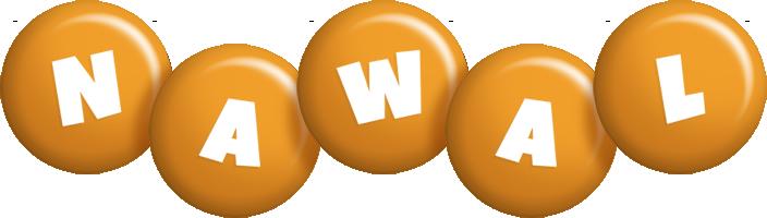 Nawal candy-orange logo