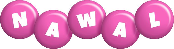 Nawal candy-pink logo
