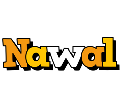 Nawal cartoon logo
