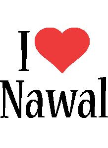 Nawal i-love logo