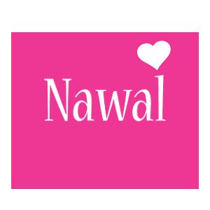Nawal love-heart logo