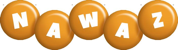 Nawaz candy-orange logo