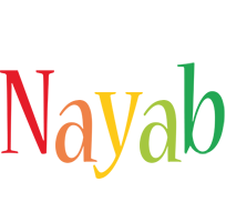 Nayab birthday logo