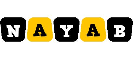 Nayab boots logo