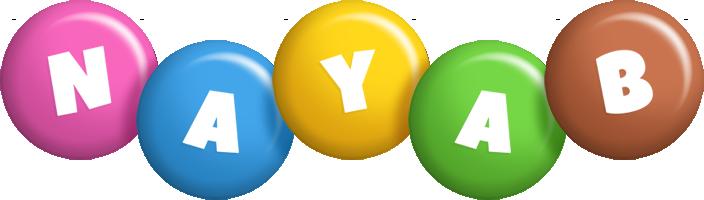 Nayab candy logo