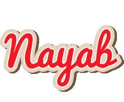 Nayab chocolate logo