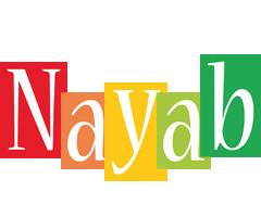 Nayab colors logo