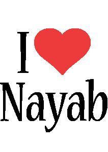 Nayab i-love logo
