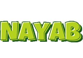 Nayab summer logo