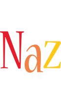 Naz birthday logo