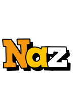 Naz cartoon logo