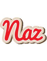 Naz chocolate logo