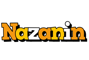 Nazanin cartoon logo