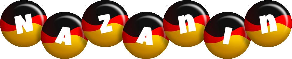 Nazanin german logo
