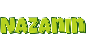 Nazanin summer logo