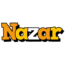 Nazar cartoon logo