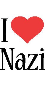 Nazi i-love logo