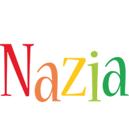 Nazia birthday logo