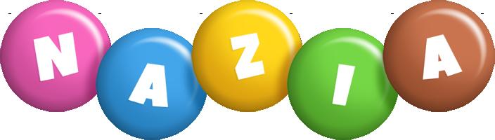 Nazia candy logo