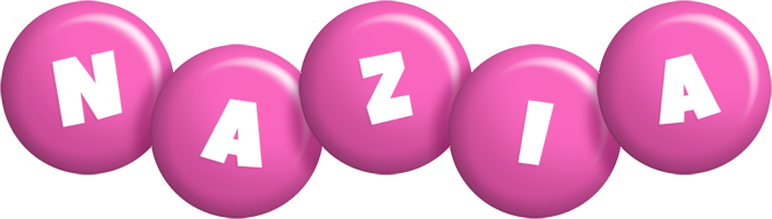 Nazia candy-pink logo