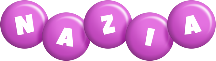 Nazia candy-purple logo