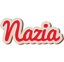 Nazia chocolate logo
