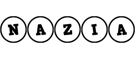 Nazia handy logo