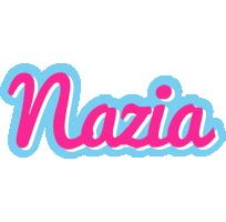 Nazia popstar logo