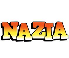 Nazia sunset logo