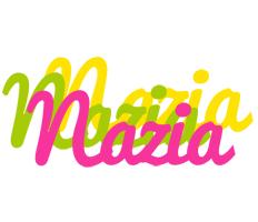 Nazia sweets logo