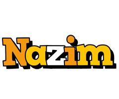 Nazim cartoon logo