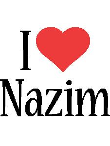 Nazim i-love logo