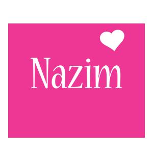 Nazim love-heart logo