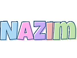 Nazim pastel logo