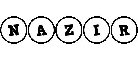 Nazir handy logo
