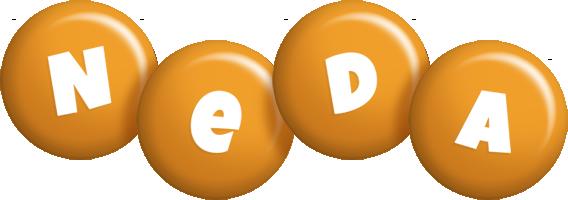Neda candy-orange logo