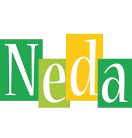 Neda lemonade logo
