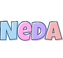 Neda pastel logo