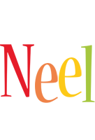 Neel birthday logo