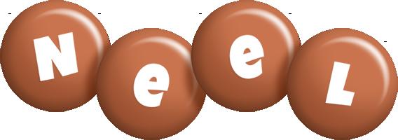 Neel candy-brown logo