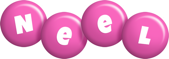 Neel candy-pink logo