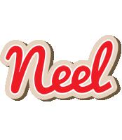 Neel chocolate logo