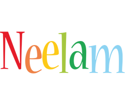 Neelam birthday logo